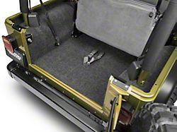 BedRug Cargo Floor Mat (97-06 Jeep Wrangler TJ, Excluding Unlimited)