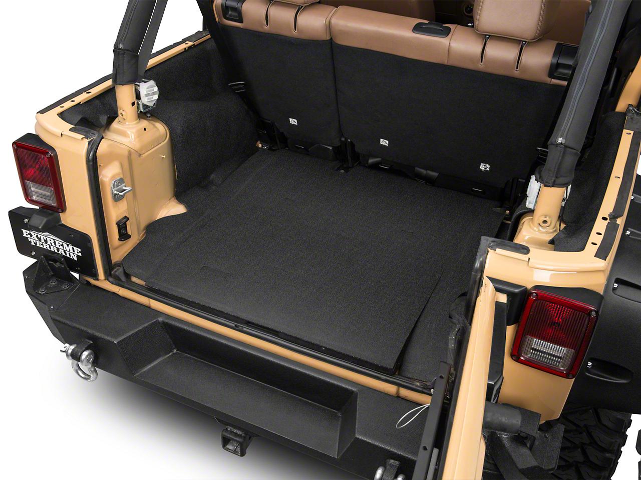 BedRug BedTred Cargo Floor Liner (07-18 Jeep Wrangler JK 4 Door)