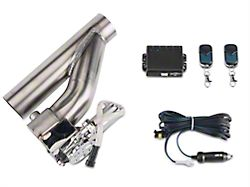 X-Force Electronic Exhaust Cutout Kit; 2.5 Inch (Universal Fitment)
