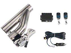 X-Force Electronic Exhaust Cutout Kit - 2.5 in. (87-19 Jeep Wrangler YJ, TJ, JK & JL)