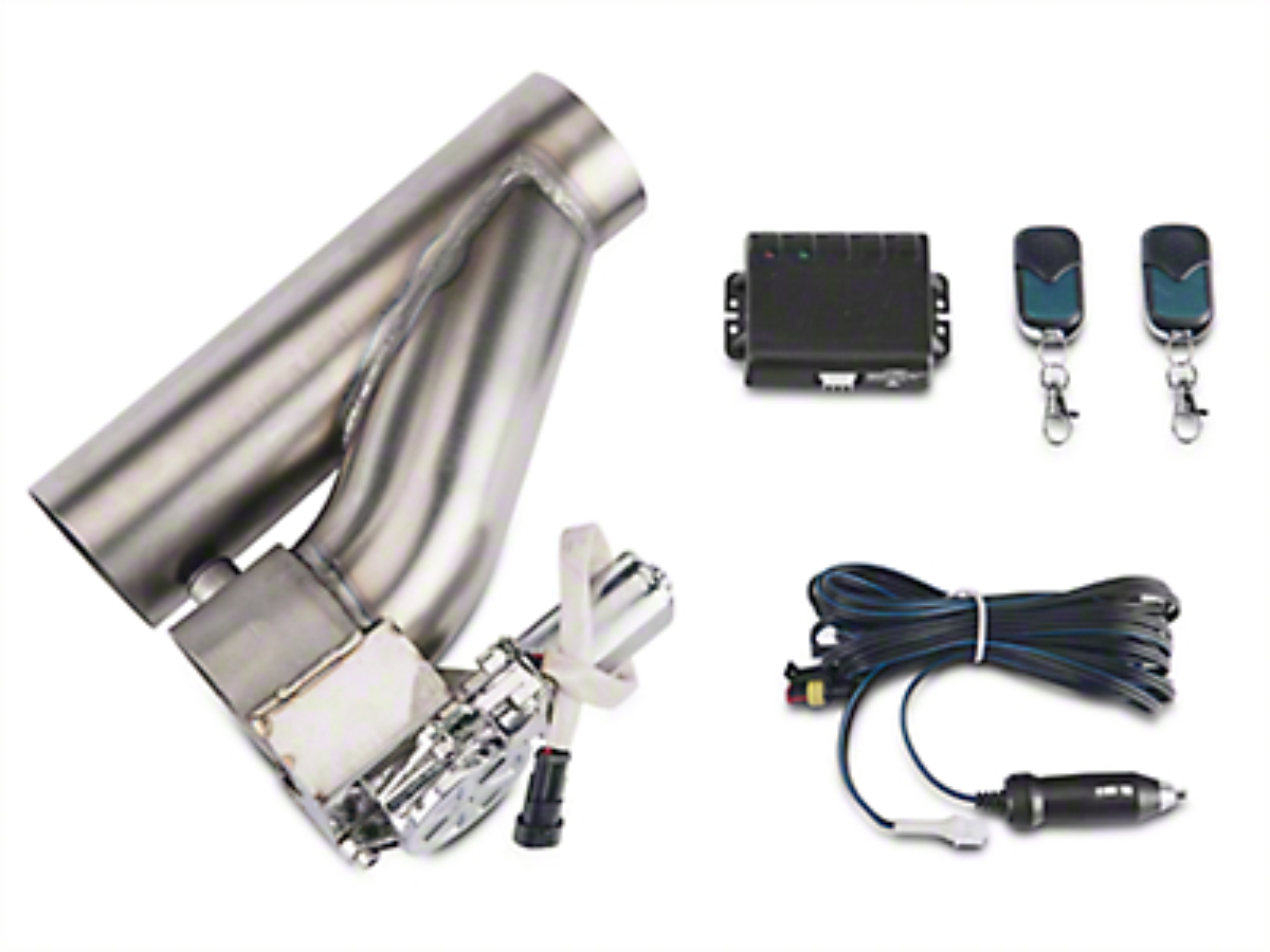 X-Force Electronic Exhaust Cutout Kit - 3 in. (87-18 Wrangler YJ, TJ & JK)