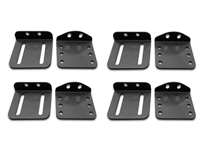 Addictive Desert Designs Hard Top Pivot Roof Mount Kit for MaxRax Roof Rack (07-18 Jeep Wrangler JK)