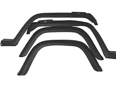 Omix-ADA Factory Style Replacement Fender Flares (87-95 Jeep Wrangler YJ)