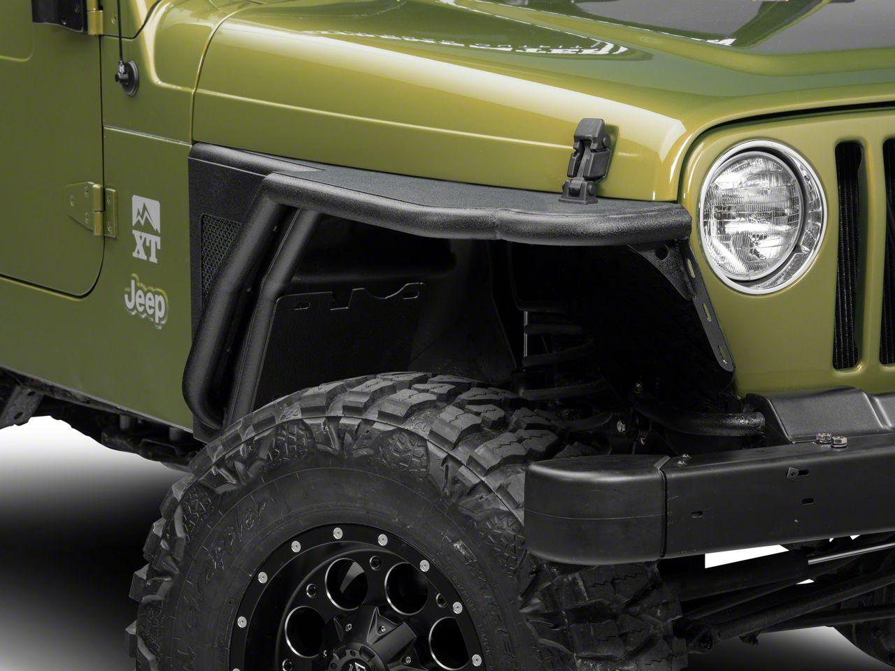 Barricade Front & Rear Fender Flares (97-06 Jeep Wrangler TJ)