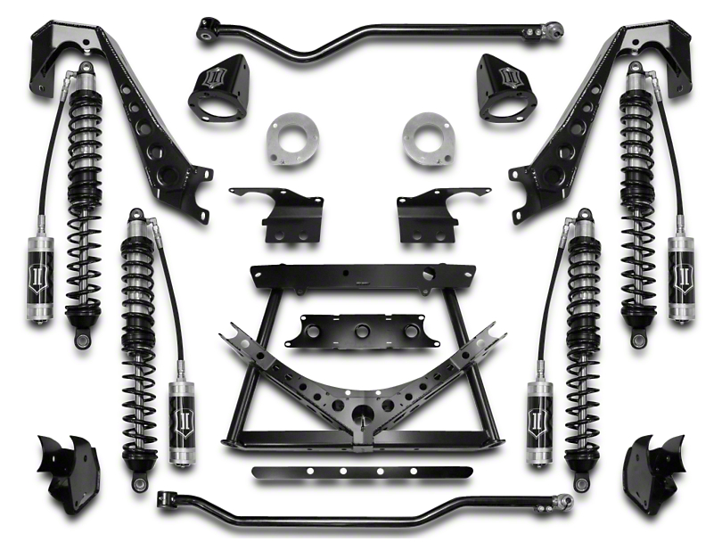 ICON Vehicle Dynamics 1.75-3 in. Coilover Conversion Suspension System - Stage 2 (07-18 Jeep Wrangler JK)