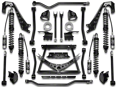 ICON Vehicle Dynamics 1.75-4 in. Coil-Over Conversion Suspension System - Stage 1 (07-18 Jeep Wrangler JK)