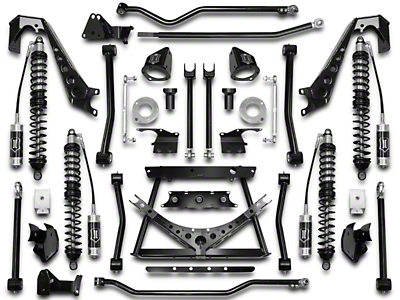 ICON Vehicle Dynamics 4-6.5 in. Coil-Over Conversion Suspension System - Stage 1 (07-18 Wrangler JK)
