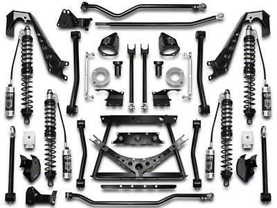 ICON Vehicle Dynamics 4-6.5 in. Coil-Over Conversion Suspension System - Stage 2 (07-18 Wrangler JK)