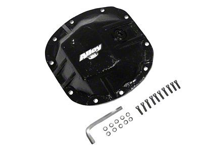 Alloy USA HD Dana 30 Differential Cover - 3/8 in. Cast Steel (87-18 Jeep Wrangler YJ, TJ & JK)