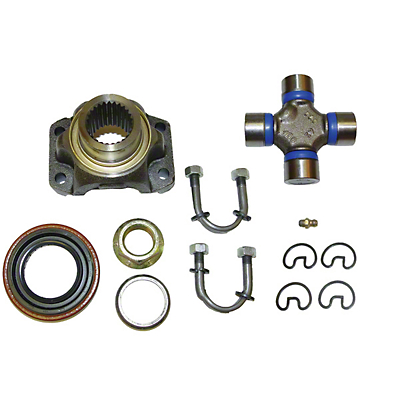 Alloy USA Conversion Yoke Kit - Dana 35 (87-93 & 97-02 Wrangler TJ & YJ)