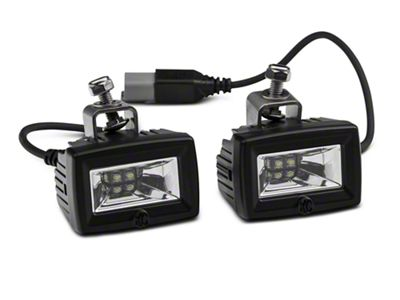 Deegan 38 Front Bumper LED Flood Lights (07-19 Jeep Wrangler JK & JL)