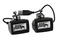 Deegan 38 Front Bumper LED Flood Lights (07-21 Jeep Wrangler JK & JL)