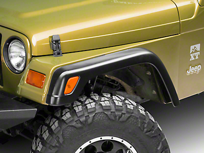 Omix-ADA Replacement Steel Fender Flares (97-06 Jeep Wrangler TJ)
