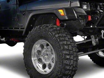 Factory Style Replacement Fender Flares - Front Driver Side (97-06 Jeep Wrangler TJ)
