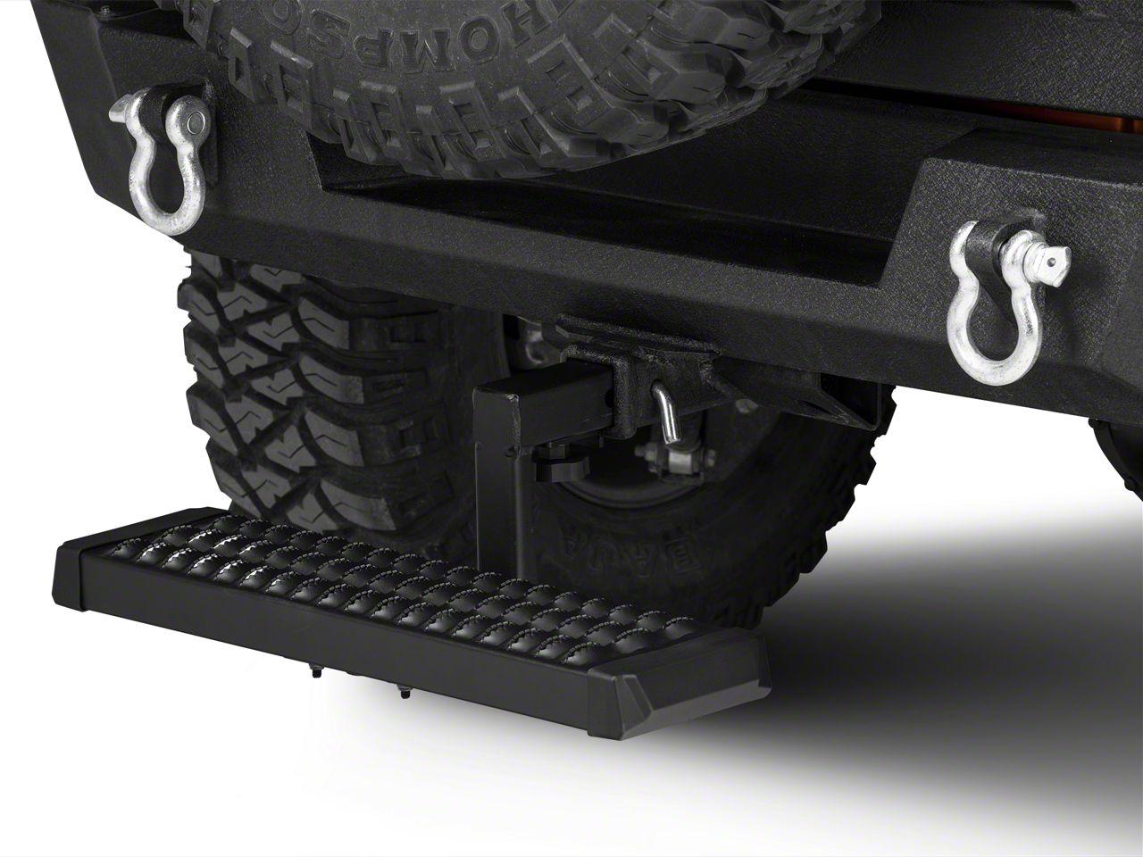 Jk jeep wrangler receiver hitches extremeterrain