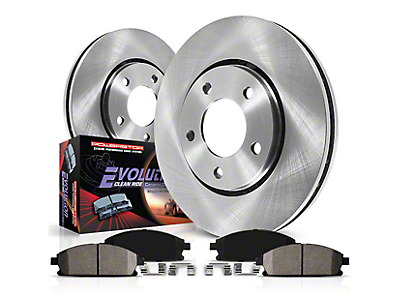 Power Stop OE Replacement Brake Rotor & Pad Kit - Front (07-18 Wrangler JK)