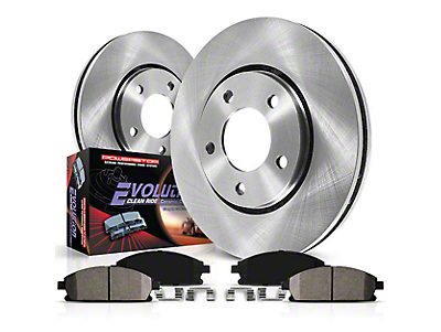 Power Stop OE Replacement Brake Rotor & Pad Kit - Rear (03-06 Wrangler TJ w/ Disc Brakes)