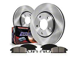Power Stop OE Replacement Brake Rotor & Pad Kit - Rear (03-06 Jeep Wrangler TJ w/ Disc Brakes)