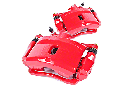 Power Stop Performance Front Brake Calipers - Red (07-18 Jeep Wrangler JK)