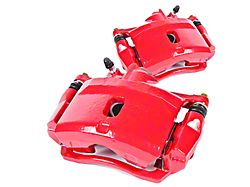 Power Stop Performance Front Brake Calipers; Red (07-18 Jeep Wrangler JK)