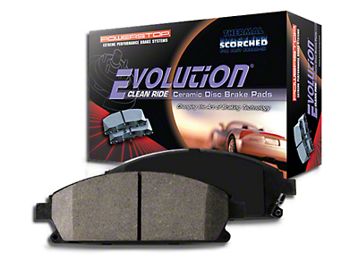 Power Stop Z16 Evolution Clean Ride Ceramic Brake Pads - Front Pair (07-18 Jeep Wrangler JK)