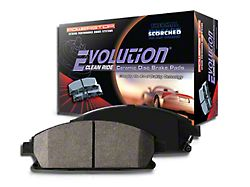 Power Stop Z16 Evolution Clean Ride Ceramic Brake Pads - Rear Pair (07-18 Jeep Wrangler JK)