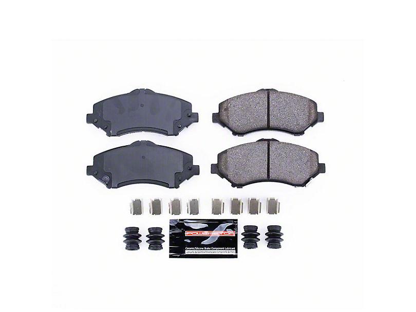 Power Stop Z23 Evolution Sport Ceramic Brake Pads; Front Pair (07-18 Jeep Wrangler JK)