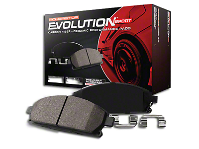 Power Stop Z23 Evolution Sport Ceramic Brake Pads - Front Pair (90-06 Jeep Wrangler YJ & TJ)