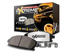Power Stop Z36 Extreme Truck and Tow Carbon-Ceramic Brake Pads; Front Pair (90-06 Jeep Wrangler YJ & TJ)