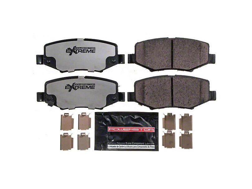 Power Stop Z36 Extreme Truck & Tow Carbon-Ceramic Brake Pads - Rear Pair (07-18 Jeep Wrangler JK)