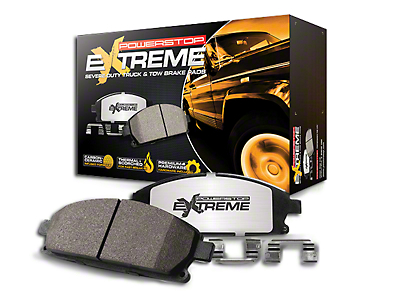 Power Stop Z36 Extreme Truck & Tow Carbon-Ceramic Brake Pads - Rear Pair (07-18 Wrangler JK)