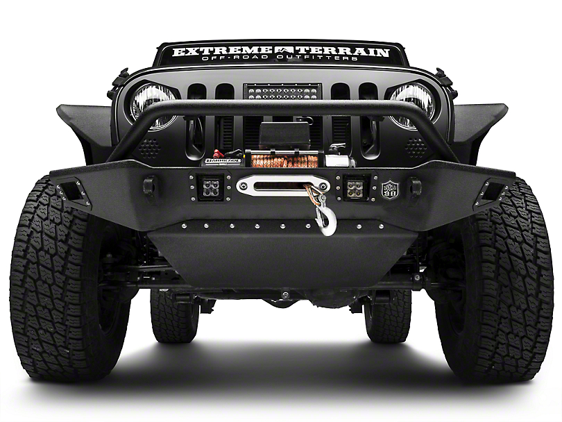 Deegan 38 HD Skid Plate for Deegan 38 Front Bumper (07-18 Wrangler JK)