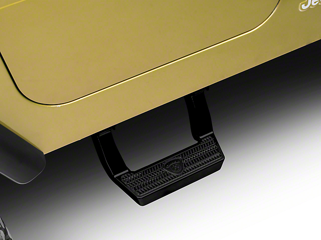 Carr LD Side Steps - Black (97-06 Jeep Wrangler TJ)