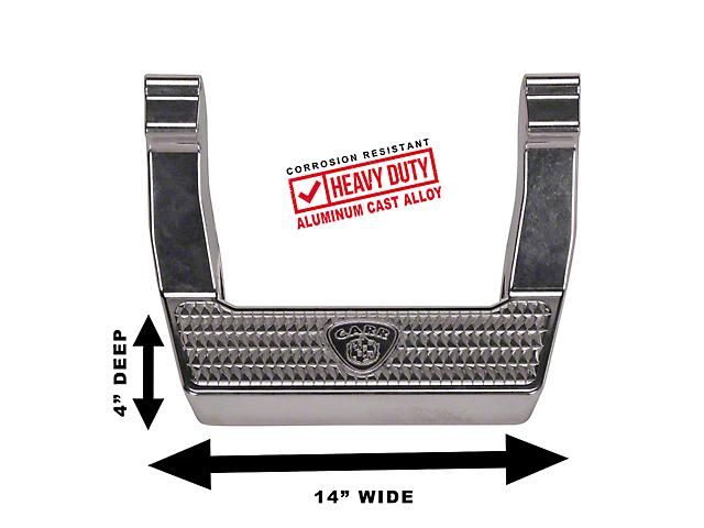 Carr LD Side Steps - Polished (97-06 Jeep Wrangler TJ)