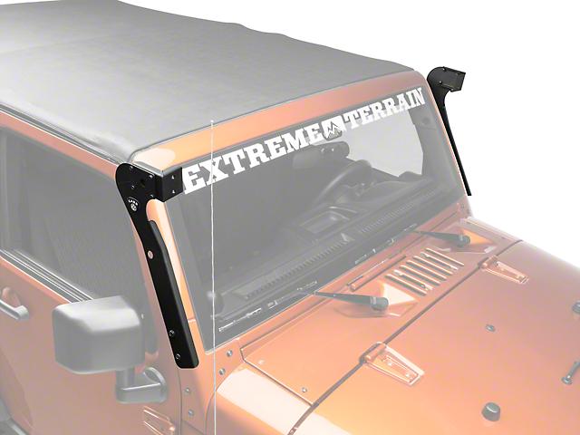 Carr wrangler xrs adjustable led light bar brackets 210991 07 17 carr xrs adjustable led light bar brackets 07 18 wrangler jk aloadofball Choice Image
