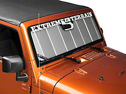 Covercraft UVS100 Custom Sunscreen - Silver (11-18 Jeep Wrangler JK)