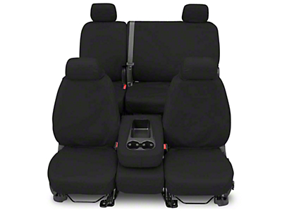 Covercraft Seat Saver Front Row Seat Covers - Charcoal (87-95 Wrangler YJ)