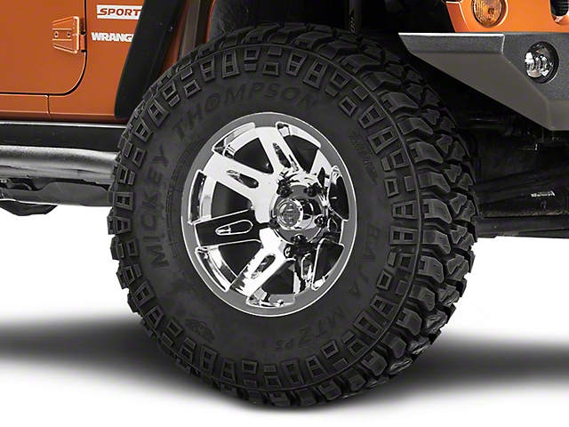 Rugged Ridge XHD Aluminum Chrome Wheel; 17x9 (07-18 Jeep Wrangler JK)