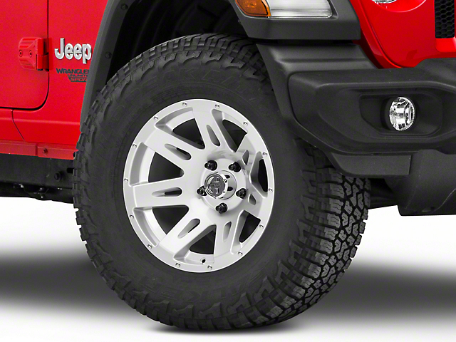 Rugged Ridge XHD Aluminum Silver Wheel - 17x9 (18-19 Jeep Wrangler JL)