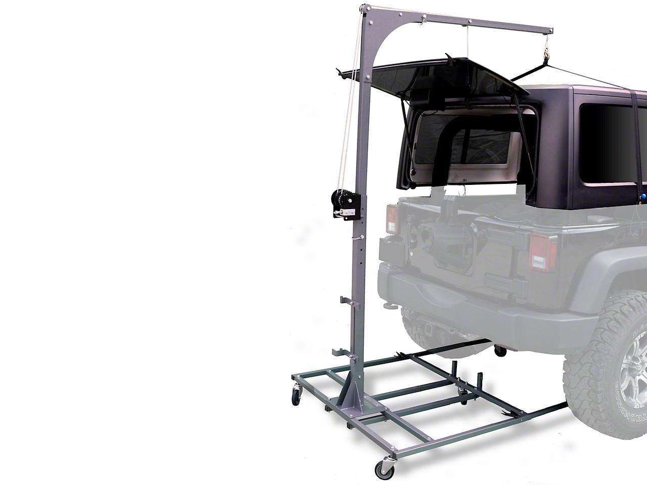 Lange Hoist-A-Cart (07-18 Wrangler JK; 2018 Wrangler JL)