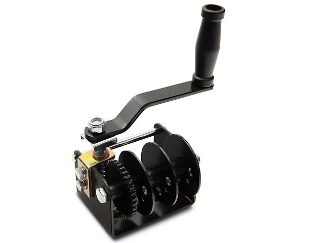 Lange Simple Hoist-A-Top (18-20 Jeep Wrangler JL)