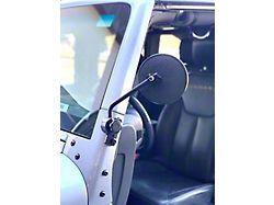 Lange Quick Mirrors II - Black (87-18 Jeep Wrangler YJ, TJ & JK)