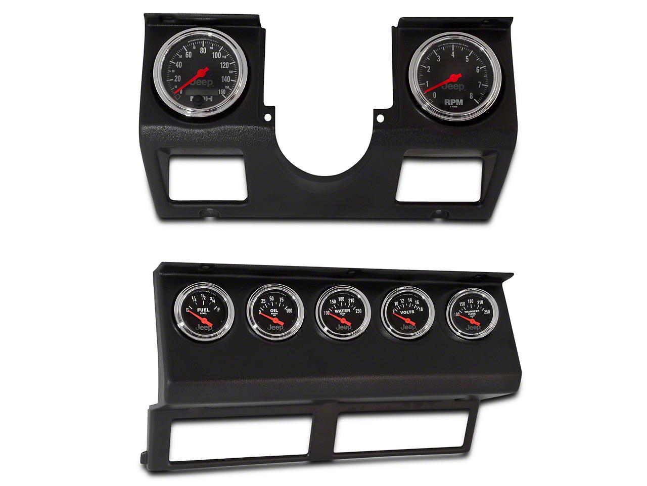 Auto Meter Complete Instrument Kit (87-95 Wrangler YJ)