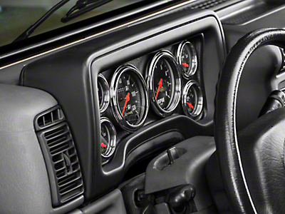 Auto Meter Direct Fit Dash Gauge Panel (97-06 Wrangler TJ)