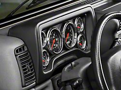 Auto Meter Direct Fit Dash Gauge Panel (97-06 Jeep Wrangler TJ)
