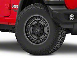 Black Rhino Armory Gunblack Wheel; 17x9.5 (18-20 Jeep Wrangler JL)