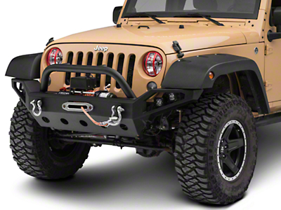 Rugged Ridge Elite Pivotal Headlight Euro Guards - Red Aluminum (07-18 Wrangler JK)