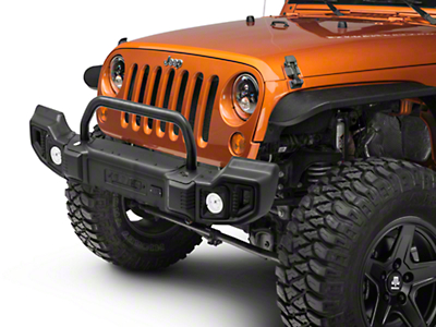 Rugged Ridge Spartacus Front & Rear Bumpers w/ Over-Rider Bar (07-18 Wrangler JK)