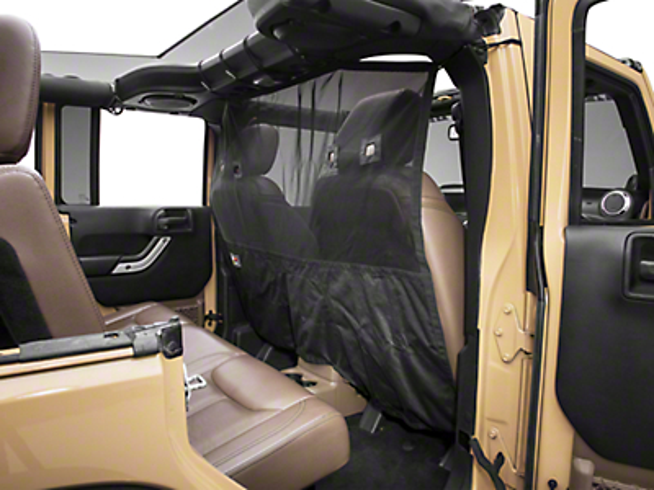 Rugged Ridge Front C2 Cargo Curtain (07-18 Jeep Wrangler JK)