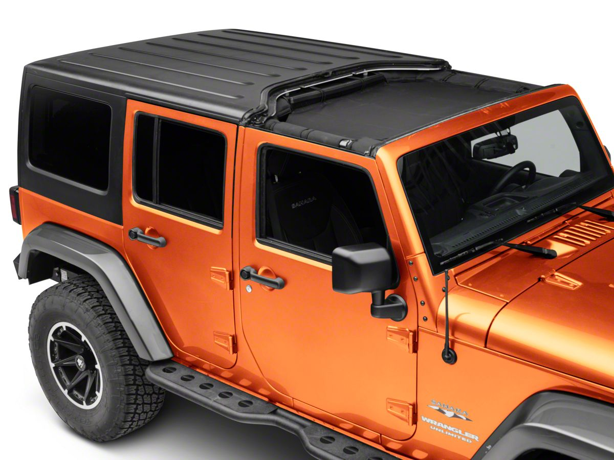 Rugged Ridge Jeep Wrangler Front Hard Top Total Eclipse Shade 13579 45 07 18 Jeep Wrangler Jk